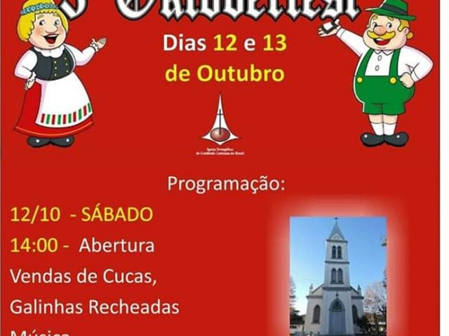 3ª Oktoberfest vai movimentar Arroio do Tigre no final de semana